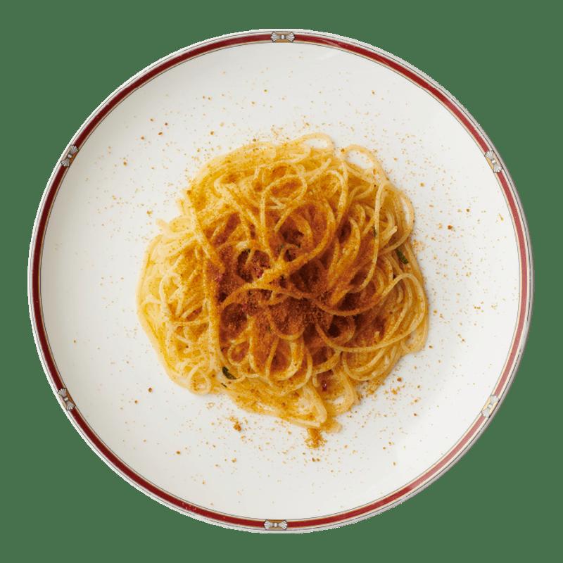 サルデーニャ産ボッタルガのスパゲッティ